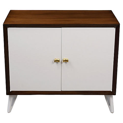 Lacquered Mid Century Modern Server