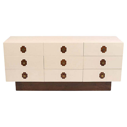 Mid Century Floating Chest of Drawers