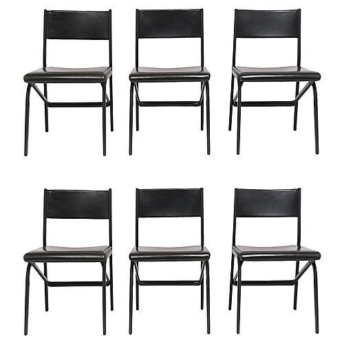 Italian Saporiti Style Dining Chairs