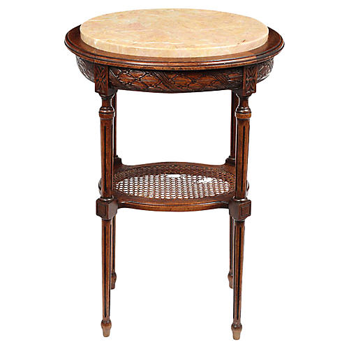 French Antique Louis XVI Side Table