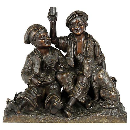 Bronze Statue Figurine