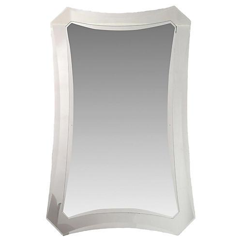 Midcentury-Style Wall Mirror
