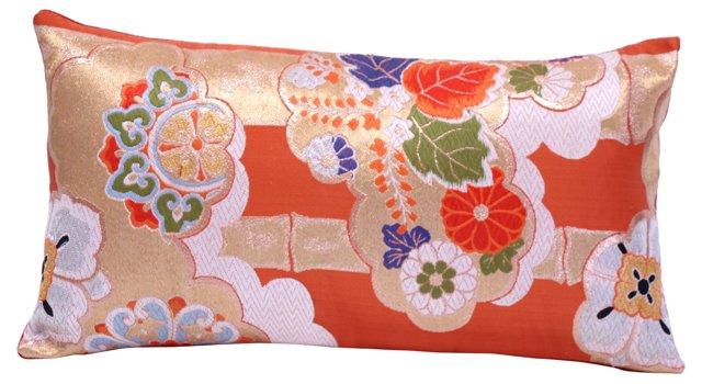 Golden Obi Pillow