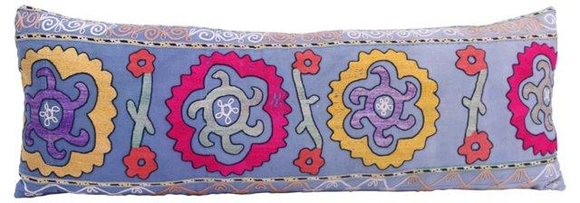 Blue Suzani Pillow