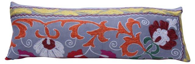 Gray Suzani       Pillow