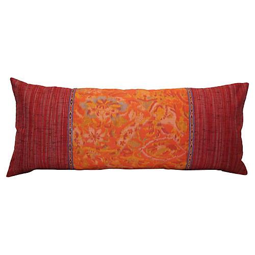 Obi Pillow with Uzbek Trim