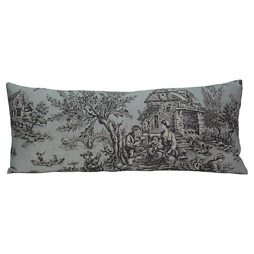 Pastoral Toile Pillow