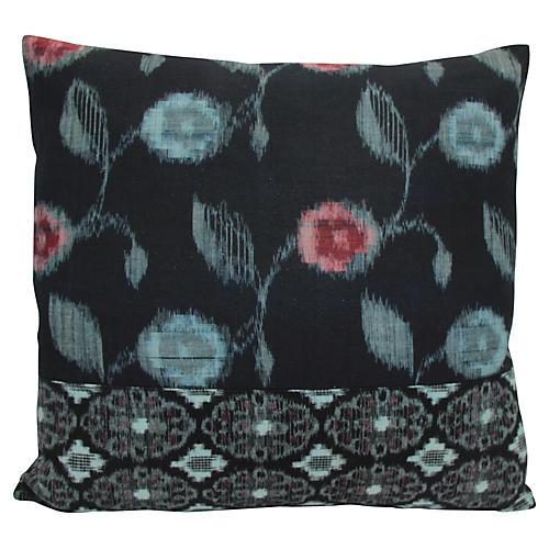 Tokyo Blue Kimono Pillow