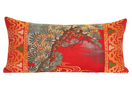 Pine Obi Pillow