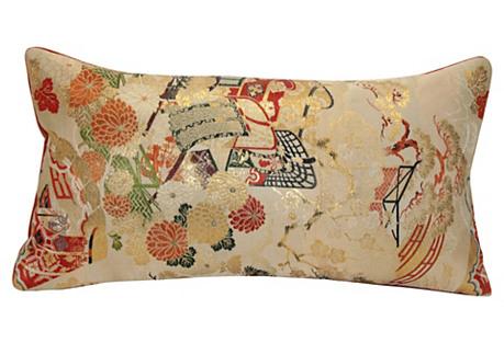 Floral Obi Pillow