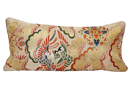 Crane Obi Pillow