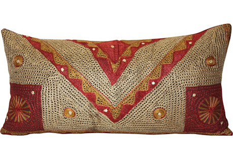 Mirrored Bohemian Pillow