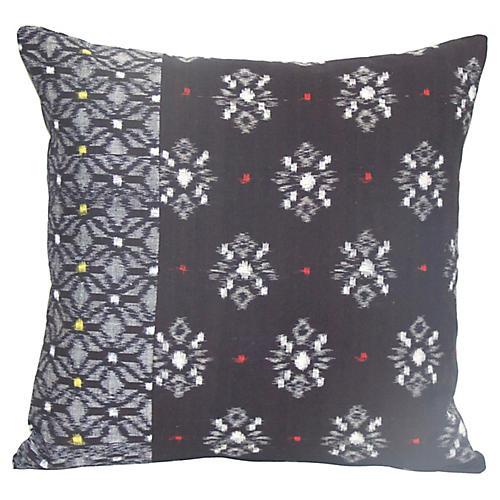 Indigo Kimono Pillow