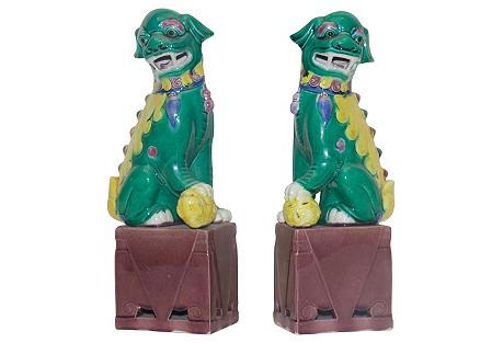 Royal Foo Dog Pair