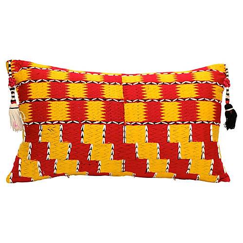 Tribal Pillow w/ Tassels