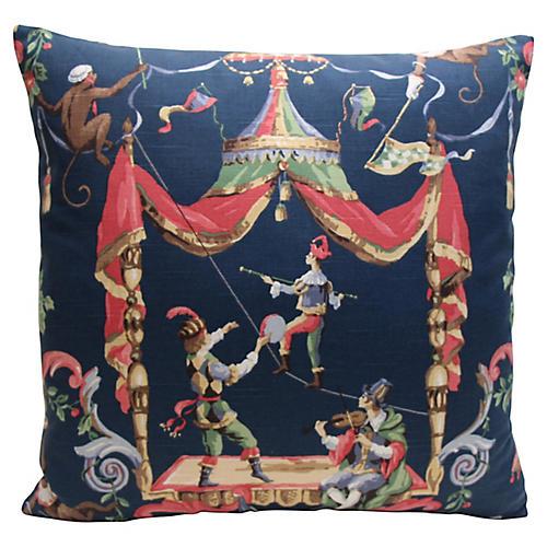 Circus Chinoiserie Pillow
