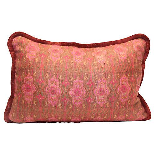 French Burlap Pillow