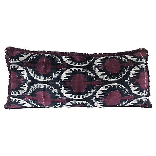 Tribal Fringe Pillow