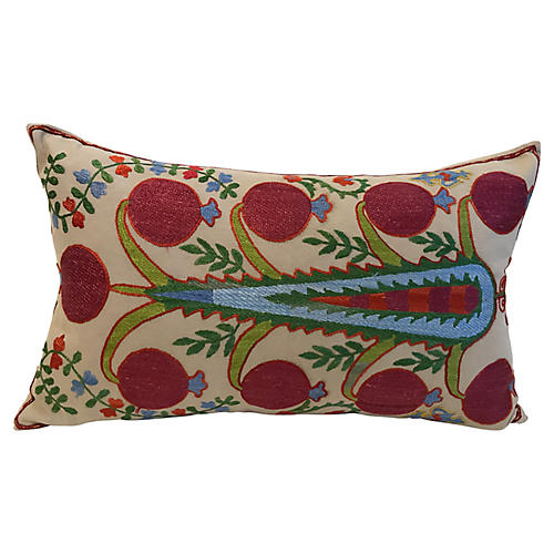 Tribal Floral Pillow