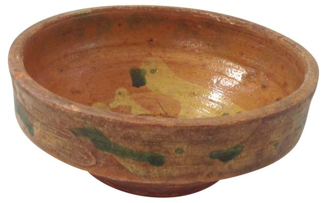 Rustic Pottery Bowl