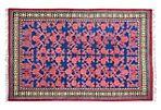 """Persian Kashan Rug, 3'10"""" x 6'"""