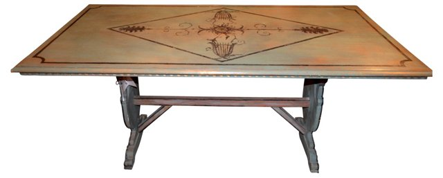 Painted French Table