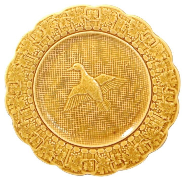 Bordallo Pinheiro Duck Plate