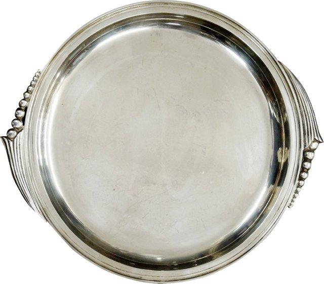 Jensen-Style Sterling Silver Platter