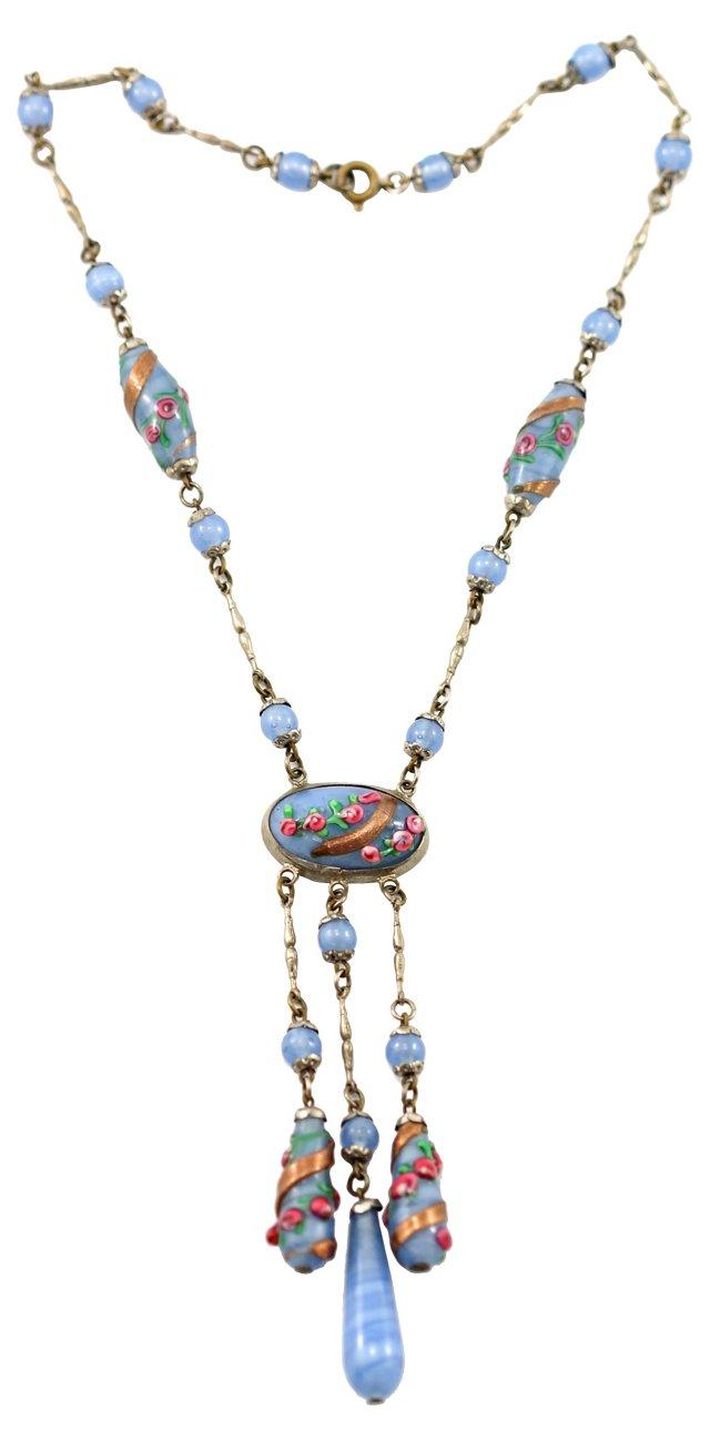 Venetian Glass Festoon Necklace