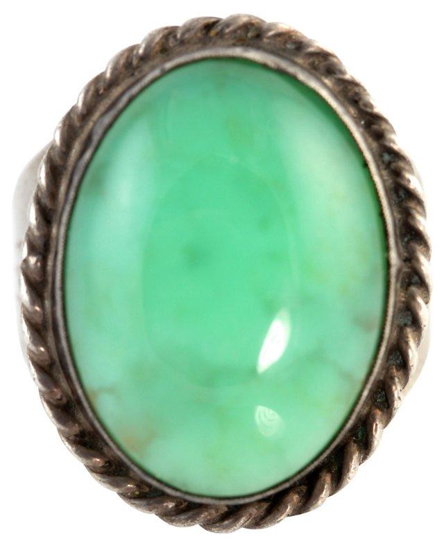 Men's Navajo Jade Ring