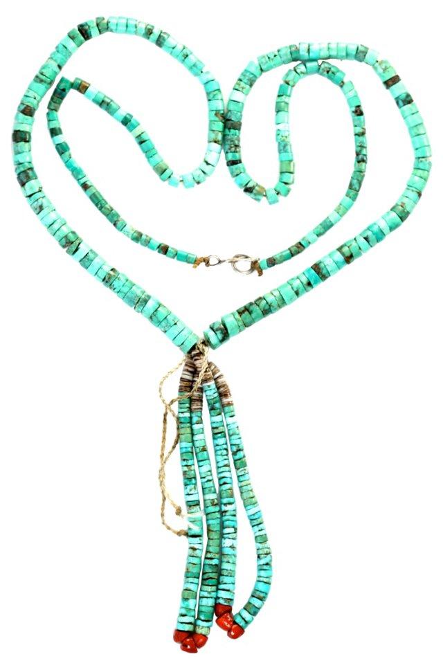 Turquoise Jacla Necklace