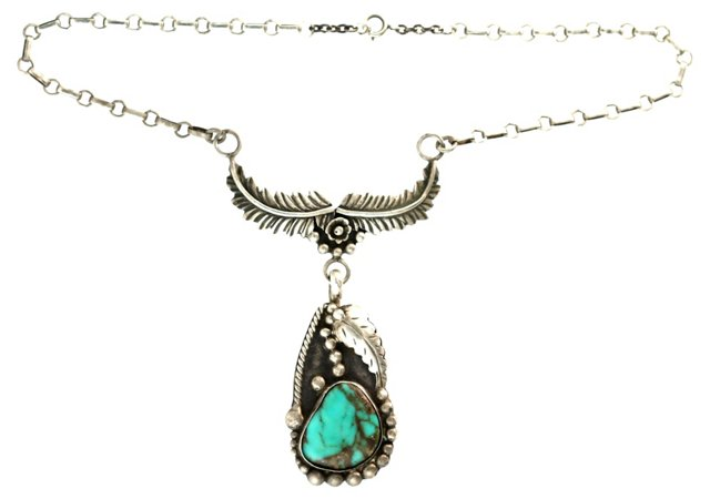 Navajo Turquoise Choker Necklace