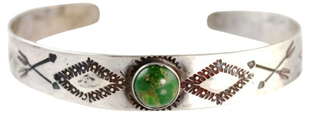 Fred Harvey Navajo Cuff