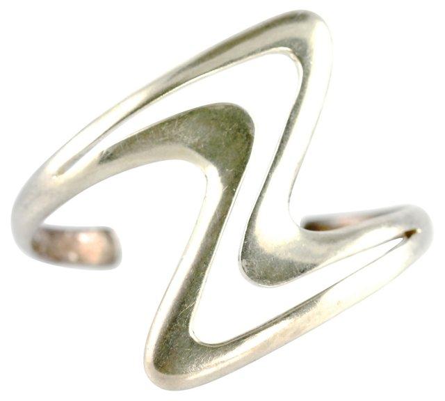 Taxco Sterling Silver Cuff