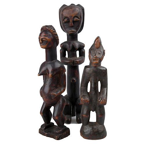 African Figures, S/3