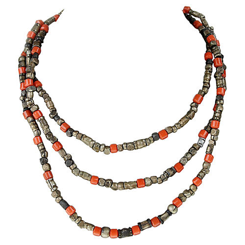 African Trading Bead Necklace