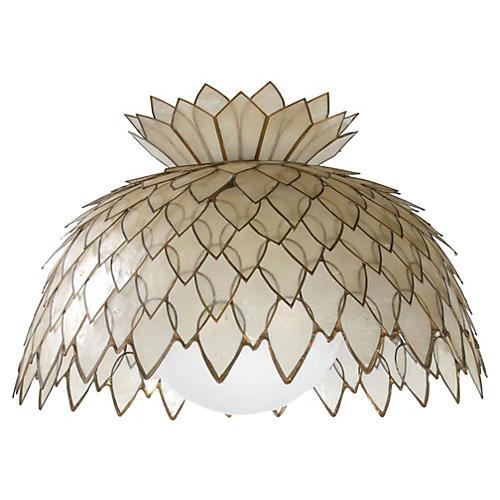 Handmade Pineapple-Shaped Chandelier