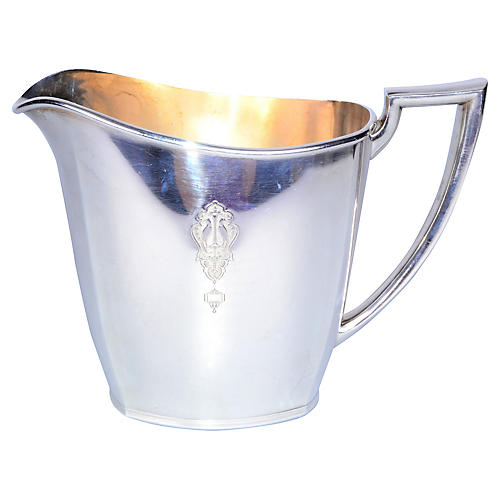 Community Silver-Plated Water Pitcher