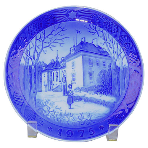 Royal Copenhagen Christmas Plate, 1975