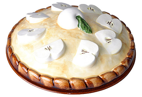 Ceramic Apple Pie Dish
