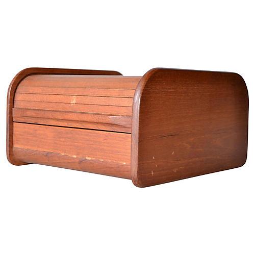 Danish-Style Teak Box