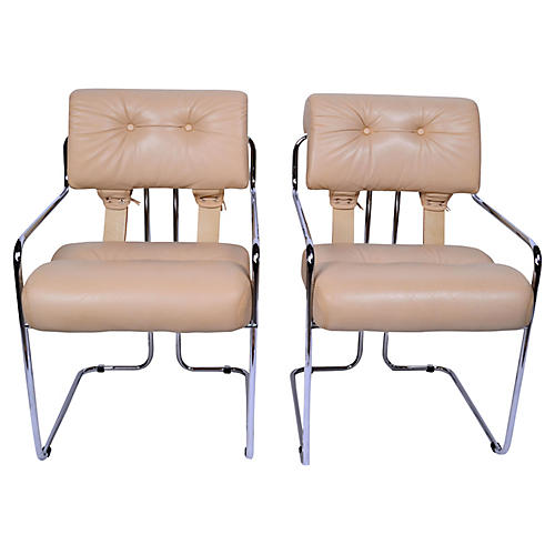 Pace Collection Dining Chairs, S/2