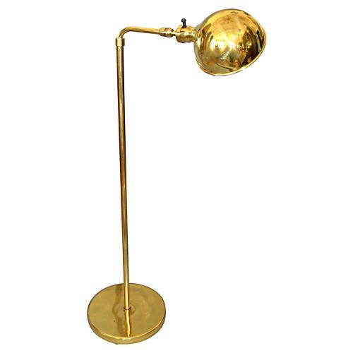 American Vintage Brass Reading Lamp