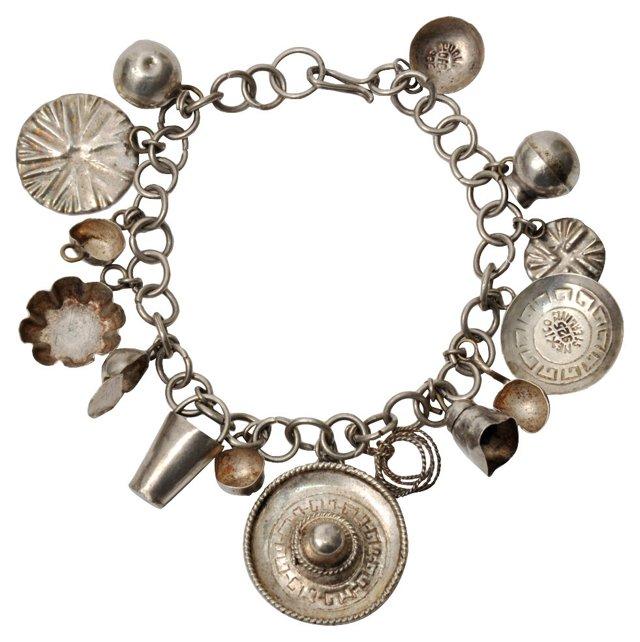 Sterling Southwest Charm Bracelet