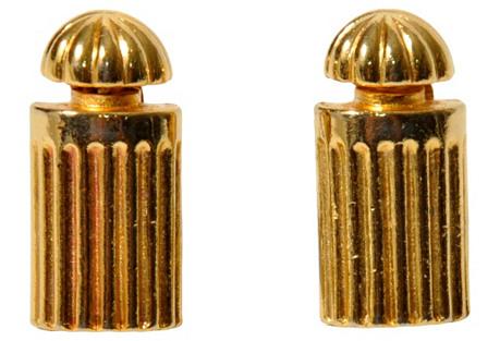 Balenciaga Perfume Bottle Earrings