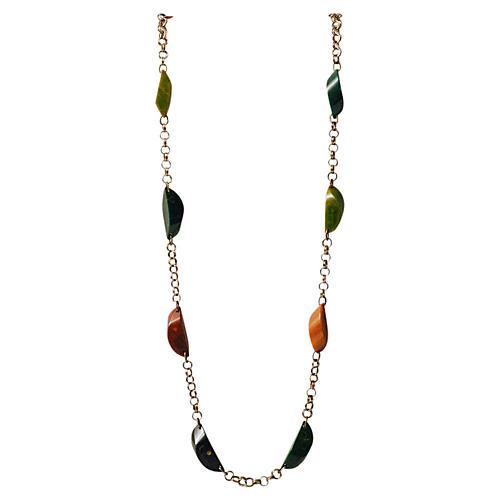 Bakelite Chain Necklace