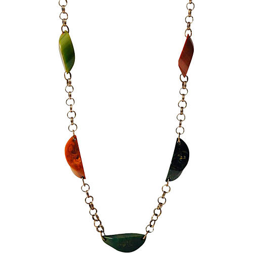 Bakelite Chain Necklace