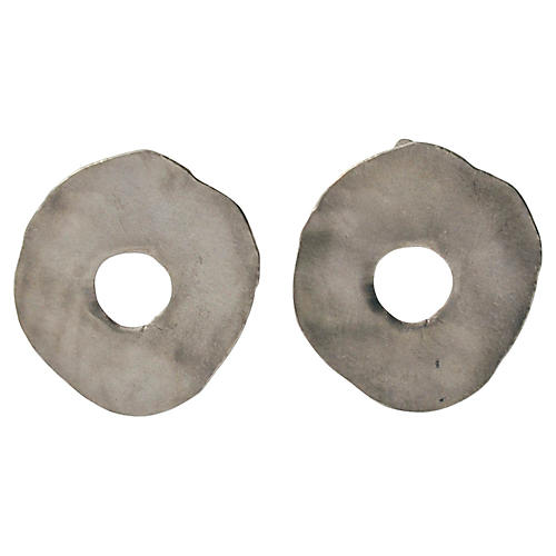Ben-Amun Circle Earrings