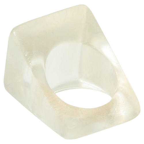 Lucite Cube Ring