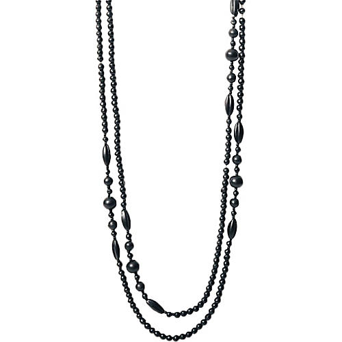French Victorian Jet Bead Necklace